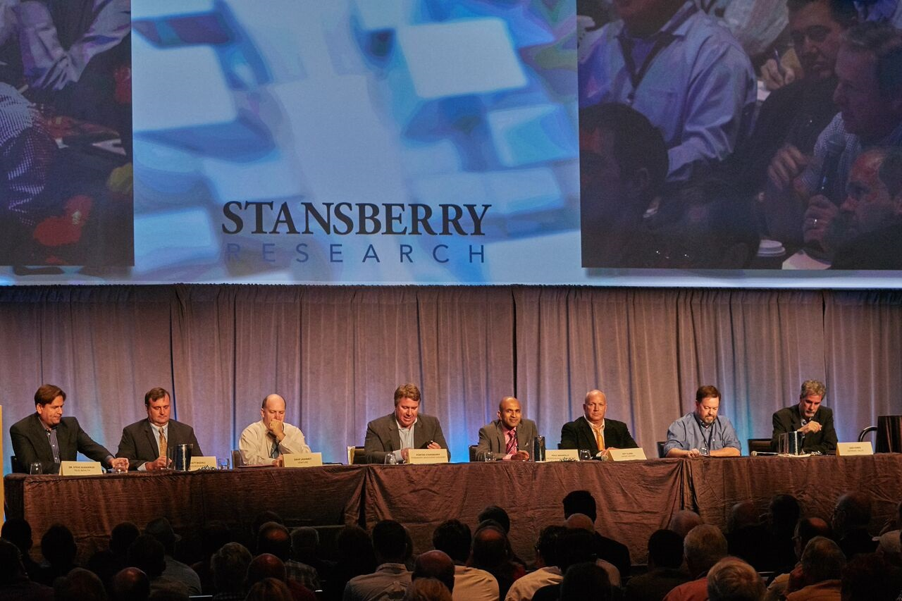 Stansberry Research Conference photo Editor Panel