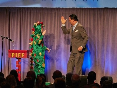 Piff the Magic Dragon & Penn Jillette